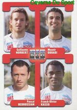 408 MUNIR OBBADI / BEDROSSIAN / KASSO  SCO.ANGERS STICKER FOOT 2005 PANINI