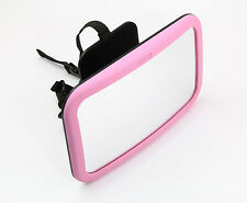 Venture Baby Back Seat Mirror Pink - The Best Super View Wide Angled Mirror