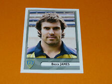 N°225 JAMES CLERMONT ASM AUVERGNE PANINI RUGBY 2007-2008 TOP 14 FRANCE