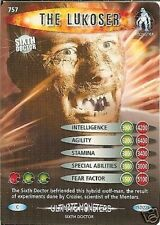 DR WHO ULTIMATE MONSTERS 757 THE LUKOSER
