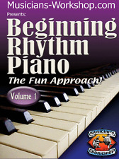Learn Piano Beginning Rhythm Piano Instruction Course Vol. 1 DVD