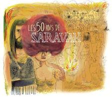 LES 50 ANS DE SARAVAH (CD NEUF)