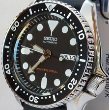 SEIKO NEW MENS AUTOMATIC 21 JEWELS DIVERS WATCH. SKX007K / SKX007K1
