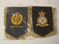 RAF  hand embroidered Pennant