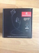 SoundPEATS QY7 Bluetooth 4.1 Wireless Sports Earphones, white, new and sealed