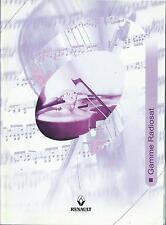 RENAULT Gamme Radiosat 2005 Bedienungsanleitung Betriebsanleitung Handbuch RN