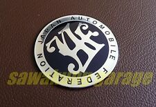 JAF Japan Automotive Federation Emblem Logo Badge
