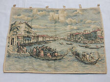 Vintage French Beautiful Scene Tapestry 114x82cm (T1100)