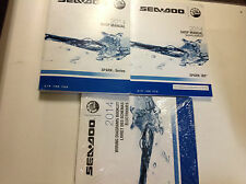 2014 Sea Doo SPARK SERIES Service Repair Shop Manual Set W Wiring & Supplement