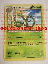 SERPERIOR - RARA 5/114 - BIANCO E NERO - POKEMON - ITALIANO - GOOD
