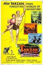 Tarzan Ape Man 1959 Poster 03 A4 10x8 Photo Print