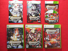 WARRIORS OROCHI 1 + 2 + 3 Collection! ~ Xbox 360 ~Complete~ 12+ Koei PAL