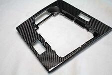 De carbono real BMW e46 schaltkulisse 2 interruptores revestimiento cubierta