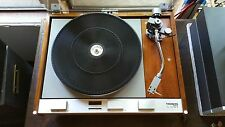 THORENS TD 125 MK II TURNTABLE, Vintage, restored and refinished