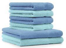 Betz 6 tlg Frottee Handtuch Set 2 Duschtücher 4 Handtücher 100% Cotton Premium