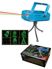 Christmas Laser Light Projector Indoor Disco Party Red & Green Decoration