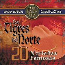 Herencia Musical: 20 Norte€as Famosas by Los Tigres del Norte (CD, Oct-2004,...