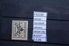 FRANCOBOLLI STAMPS VATICANO VATICAN CITY NUOVI MNH** (F52334)