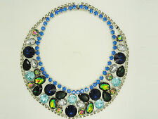 VINTAGE RUNWAY HAUTE COUTURE PIERRE BALMAIN PARIS RIVOLI CRYSTAL NECKLACE