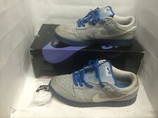 Nike SB Dunk Low Border Blue (Iron) Used Size 9.5 Supreme