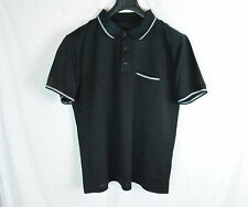 DIOR HOMME MEN'S BLACK SHORT SLEEVE POLO SHIRT BEE L XL XXL SAINT LAURENT NEW