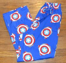 Captain America Lounge Pants Size XL Officially Licensed Marvel Comics