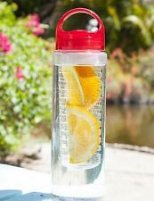 Fruit Infuser Detox BPA Free Water Bottle,700 Militers(Transparent)