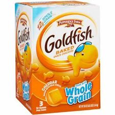 Pepperidge Farm Goldfish Baked Snack Crackers, Whole Grain Cheddar, 58 oz NEW!
