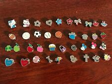 50 combination 8mm slide image letters charms fits 8mm wristband