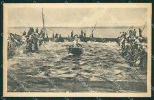 Sassari Portotorres Pesca del Tonno cartolina QT2414