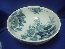 "RARE 1887 BROWN-WESTHEAD MOORE & CO KEW Very Large Bowl 16"" by 6"" BLUE and GOLD"