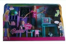 Barbie I Can Be Teacher Playset Mattel 2008