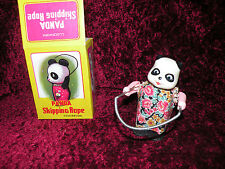 Panda Bear Jumps skips rope Ms202 NEW TOY VTG from RED CHINA  from 1970's