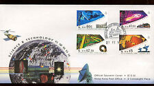 Hong Kong 1994 Science & Technology FDC Cover #C14051