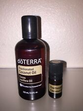 doTERRA Fractionated Coconut Oil in a *SEALED* 5mL Amber Glass Vial