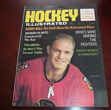 Bobby Hull Hockey Illustrated  April 1969  # 4