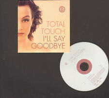 TOTAL TOUCH I'll Say Goodbye 2 track CD Single TRIJNTJE OOSTERHUIS G-Double-T