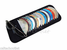 18 Disk CD DVD Auto Car Sun Visor Holder Storage Organizer Case - Truck Van SUV