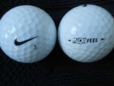"20   NIKE ""NDX FEEL""  MIXED MODELS  Golf Balls  ""PEARL/A"" Grades."