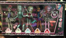 Monster High Dance Class 5 Pack ROCHELLE GIL LAGOONA ROBECCA OPERETTA Exclusive