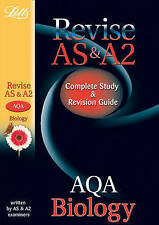 LETTS AQA AS & A2 Biology: COMPLETE STUDY & REVISION GUIDE WRITTEN BY EXAMINERS