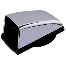 "Perko 1312DPCHR Chrome 3"" Cowl Vent W/ Black Plastic Base"