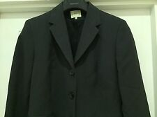 Oasis Charcoal 3-Piece Grey Suit - (Jacket, Skirt & Trousers) Size 12