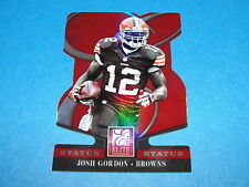 2014 Elite JOSH GORDON #22 Red Variant/25 Cleveland BROWNS - Baylor BEARS WR