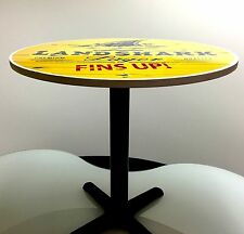 "LANDSHARK ""FINS-UP ROUND TABLE - 30"" INCH DIAMETER"""