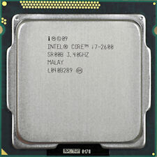 Intel Core i7-2600, Desktop Processor 3.4GHZ, 2nd Generation, 1155 Socket