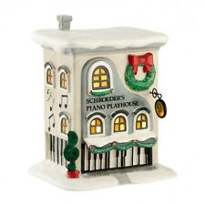 Dept 56 Peanuts 2012 Schroeder's Piano Playhouse #4026954 NIB FREE SHIP 48 STATE