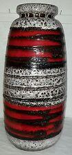 70er Jahre Keramik Vase Pottery Fat Lava 70s Bodenvase floor Space Age Mod284-47