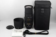 Near MINT Sigma DG 150-500mm F/5-6.3 APO HSM DG OS Lens For Nikon from Japan