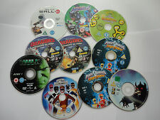 Power Rangers Disney Marvel Avengers Hulk Dragons Cbeebies DVD Bundle Lot Kids